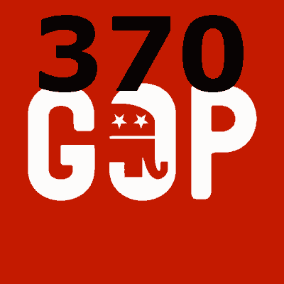 Will the Republican presidential nominee win at least 370 electoral votes in 2016?