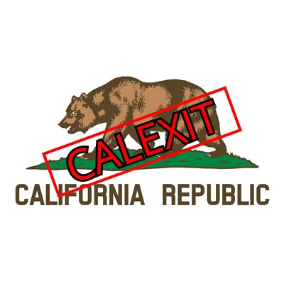 "Will ""Calexit"" initiative qualify for the 2018 ballot in California?"