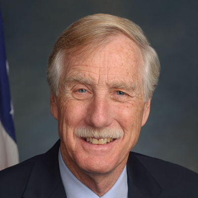Will Angus King be re-elected to the U.S. Senate in Maine in 2018?